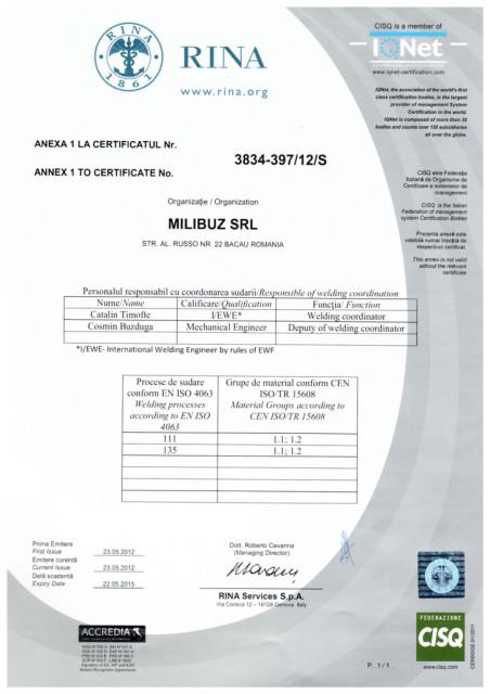 ISO 3834-anexa